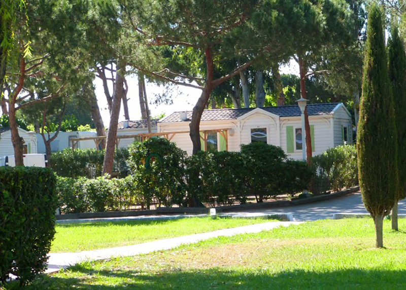Camping 3 Estrellas-Mobil-home Emplacements