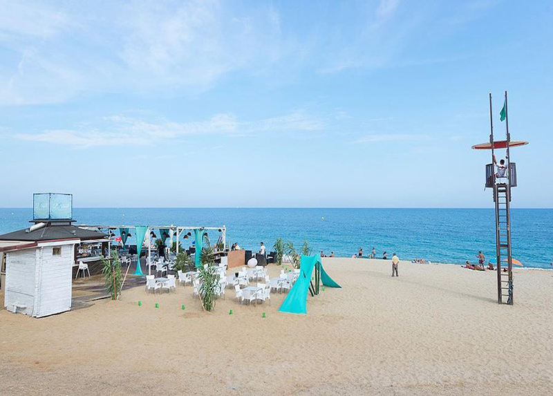 Camping Barcelona-Beach Club