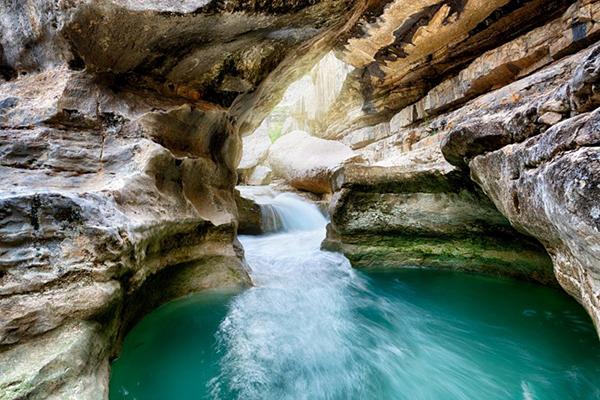 Camping Gorges de la Meouge-La Meouge baignade