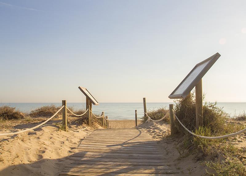 Camping Kikopark-Acces a la plage
