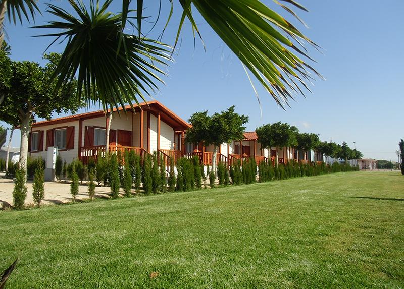 Camping Lo Monte-Locatifs Hebergement Espagne
