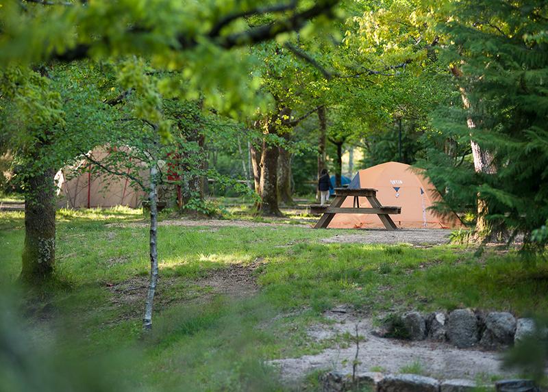 Camping Parque Cerdeira-Portugal Tente