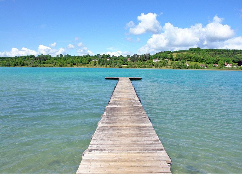 Lac de clairvaux-jura