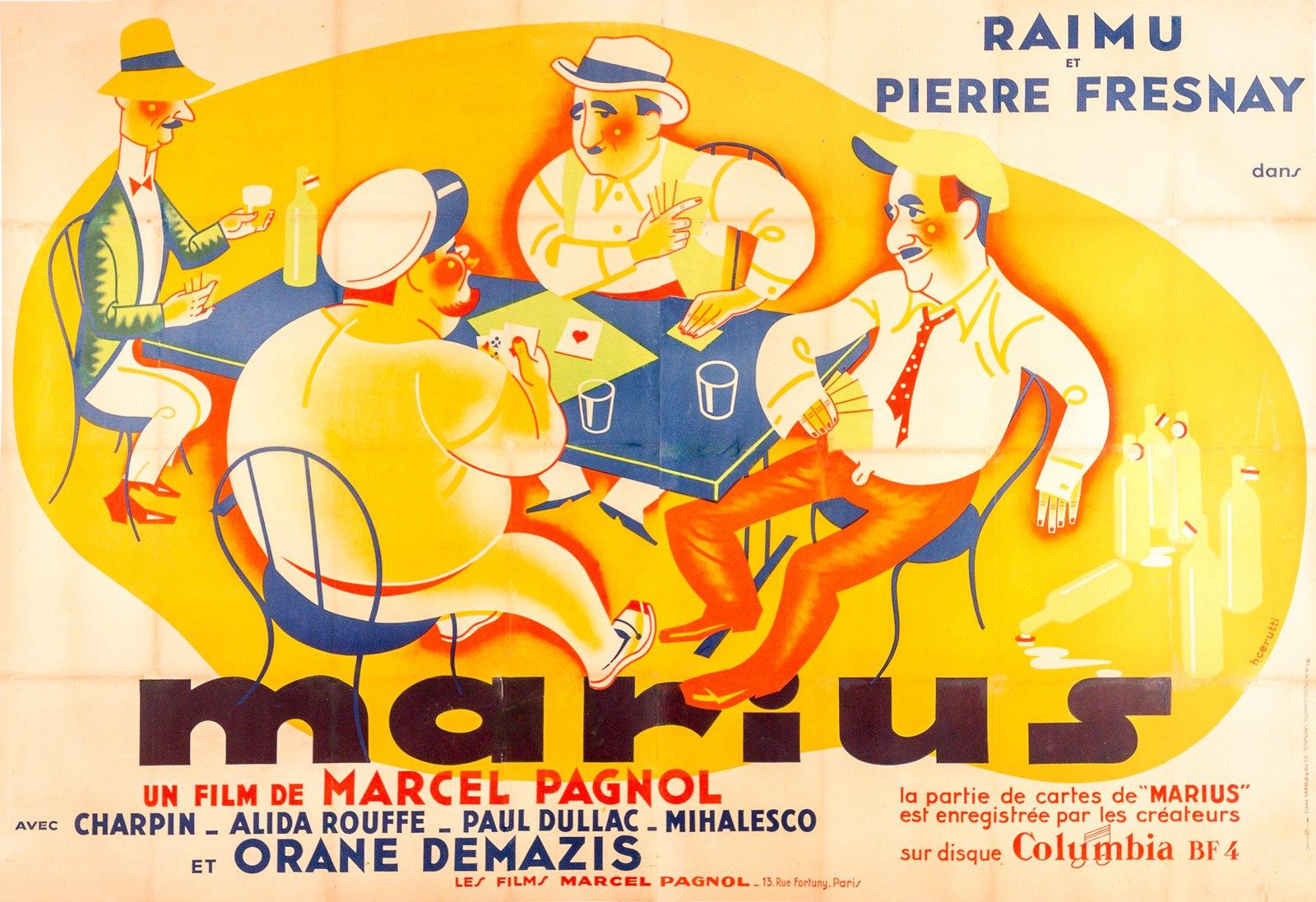 Marcel Pagnol, La partie de carte de Marius