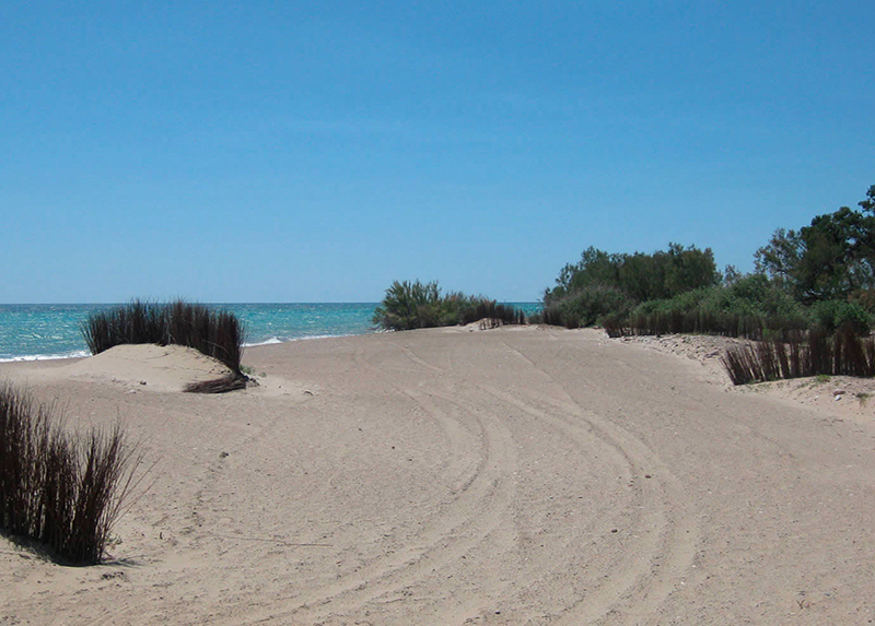 Camping riberamar-Plage Espagne
