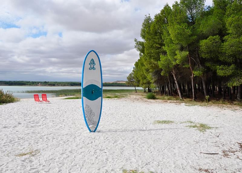 Camping La Estanca - Lac Paddle
