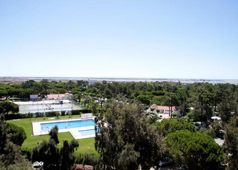 Camping Olhao Portugal - View from the Sky Camping