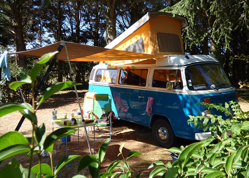 Camping La Porte d'Autan-Camping-car