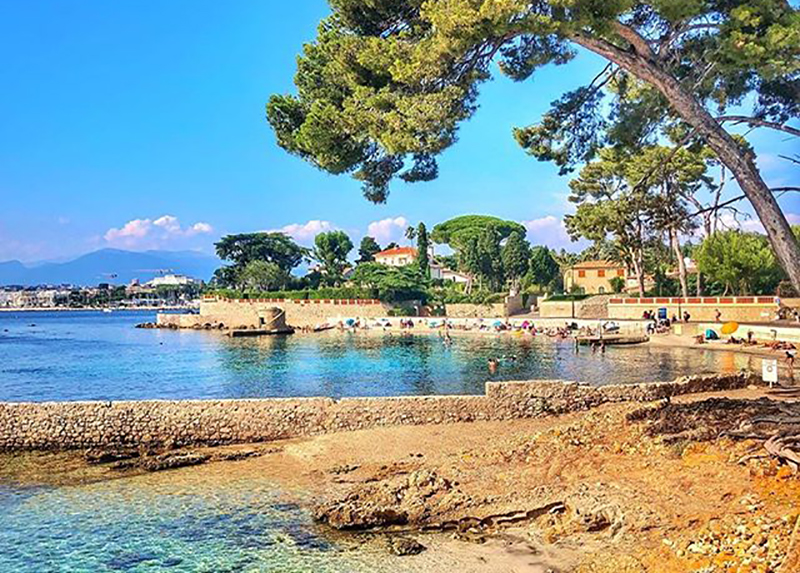 Camping Le Rossignol-Plage Antibes