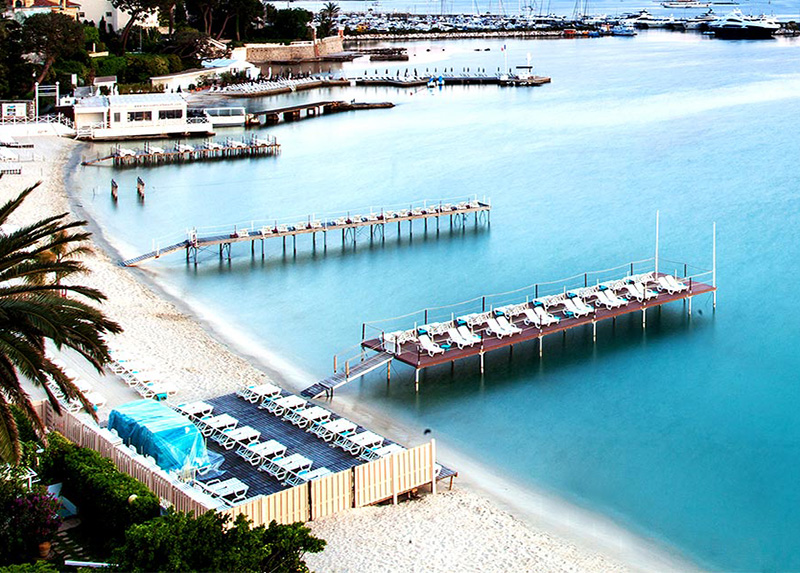 Camping le Val Fleuri-Plage Antibes