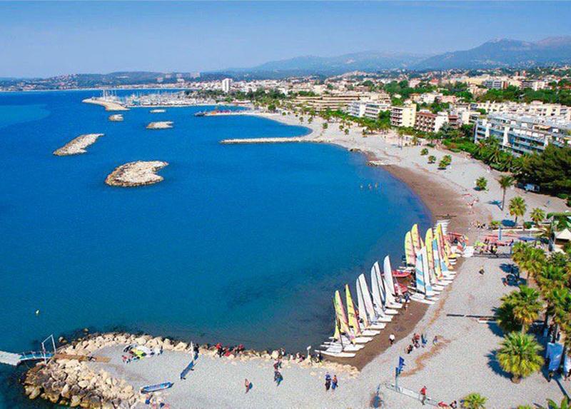 Beaches Cagnes-sur-Mer-Camping La Riviere