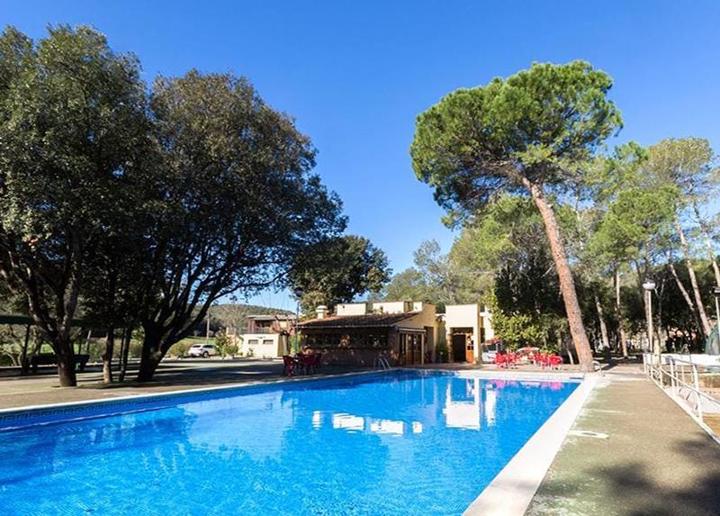 Camping Esponella -Piscine